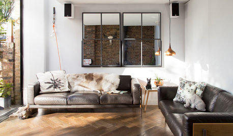 Peek Inside a London Designer's Light-Filled Modern Home