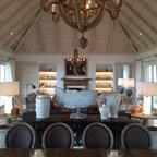 Faux Stone Panels Create A Tiki Bar Design Beach Style