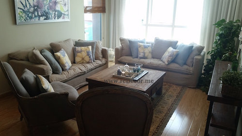 Shabby Chic Style Living Room Design Ideas Renovations Photos With