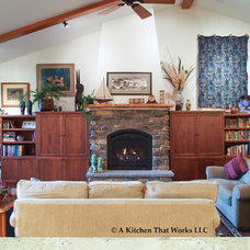 Craftsman Living Room by A Kitchen That Works LLC