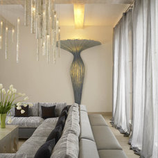 Modern Living Room by Amy Noel Design