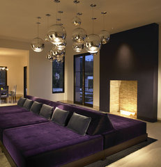 modern family room by Suite 102