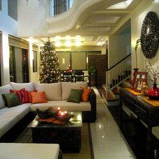 Asian Living Room Malangen Residence