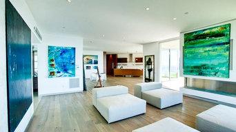Malibu Beach House Hardwood Flooring