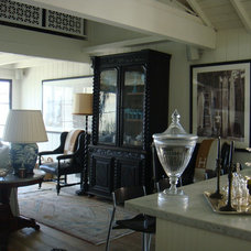 Eclectic Living Room by rice paddies interiors