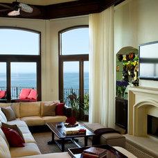 Mediterranean Living Room by Tracy Murdock Allied ASID