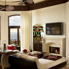 Mediterranean Living Room by Tracy Murdock Allied ASID