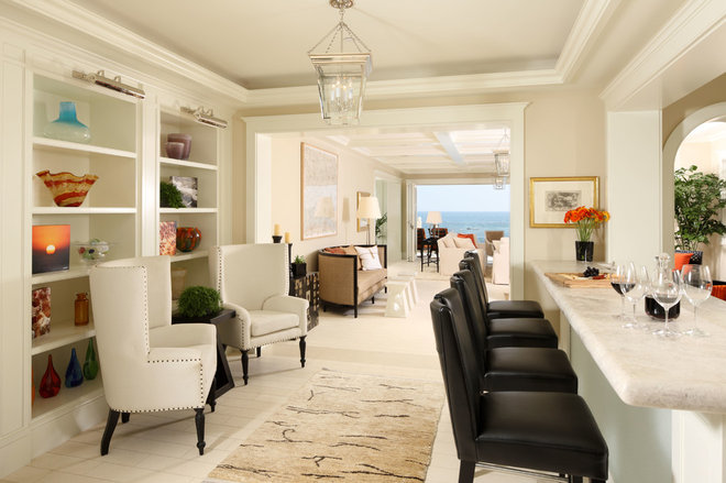 Contemporary Living Room by Kathryne Designs, Inc