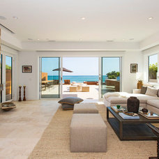 Beach Style Living Room by Tobias Architecture