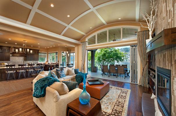 Traditional Living Room by Bill Daniels . Designer    WR Daniels design Corp
