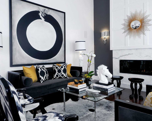 Black white gold ideas pictures remodel and decor - White and gold room decor ...