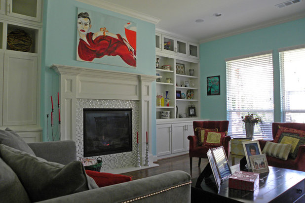 Transitional Living Room by Sarah Greenman