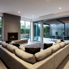 Contemporary Living Room by DDB Design Development & Building