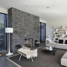 Modern Living Room by Allen Bianchi