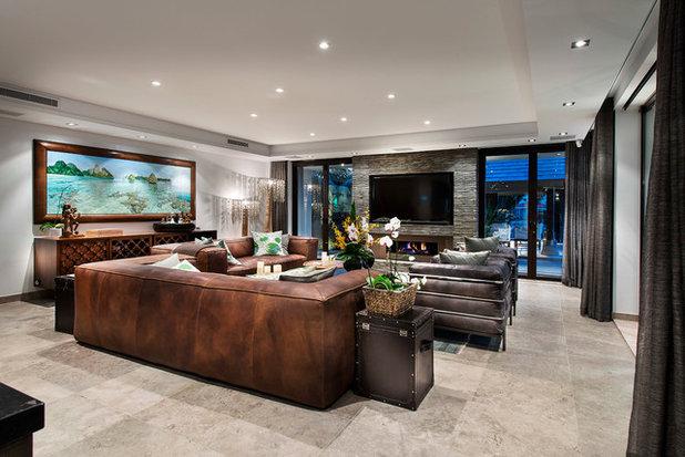 Contemporary Living Room by Zorzi