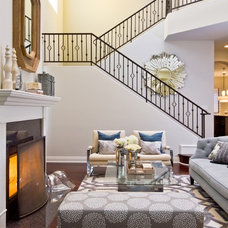 Contemporary Living Room by A.S.D. Interiors - Shirry Dolgin, Owner