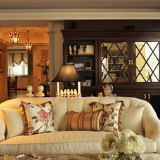 Traditional Living Room by Collins Interiors, LLC