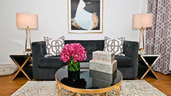 Manhattan - Contemporary  - Living Room