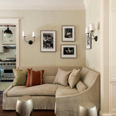 Eclectic Family Room by Christine Markatos Design