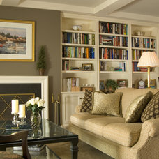 Traditional Living Room by Haddad Hakansson LLC