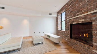 Manhattan Penthouse Fireplace