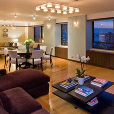 Modern Living Room by Katharine Jessica Interior Design, LLC