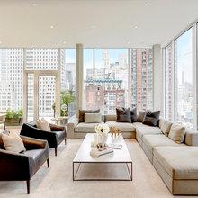 urban open living room