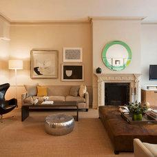 Modern Living Room by Christine Markatos Design