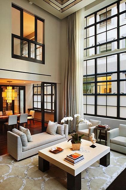 Industrial Living Room by Robert Granoff
