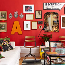 Eclectic Living Room by Jacob Snavely Photography