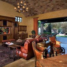 Mediterranean Living Room by James Glover Residential & Interior Design