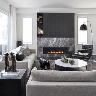 Living Room   Modern Living Room Idea In Toronto