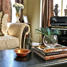 Traditional Living Room by Rose Abby Design