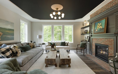 The Fifth Wall: Creative Ceilings Take Rooms to New Heights