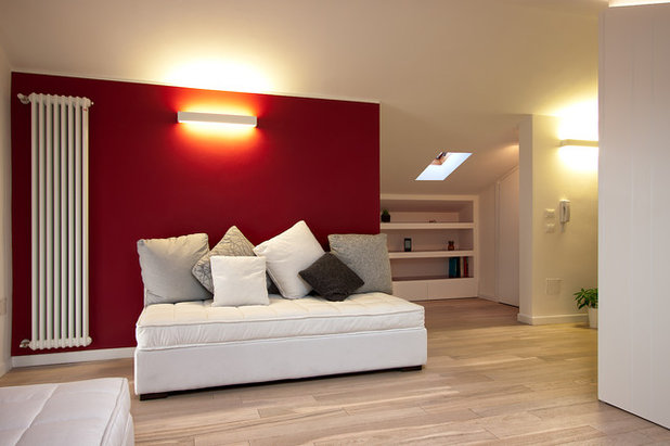 Modern Living Room by massimiliano-antimi-architetto