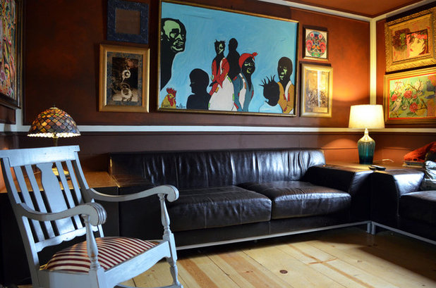 Eclectic Living Room by Sarah Greenman