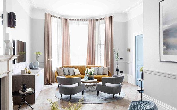 Contemporary Living Room by Turgon  Flooring