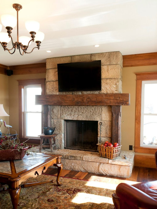 Reclaimed fireplace mantels for Decorate old fireplace