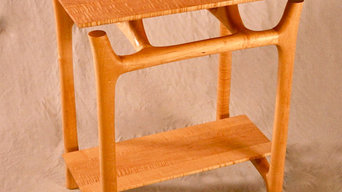 Maple Sculpted Side Tables