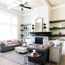 Traditional Living Room by OSMOND DESIGNS