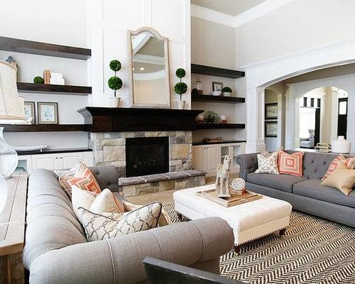 Photos et id es d co de pi ces vivre classiques petit for Classique ideas interior designs inc