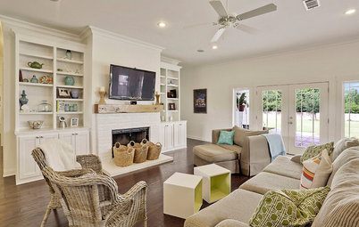 Shop Houzz Living Room Storage Solutions