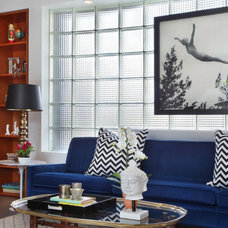 Contemporary Living Room by Vanessa De Vargas