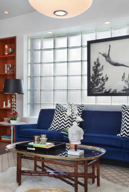 Contemporary Living Room by Vanessa De Vargas