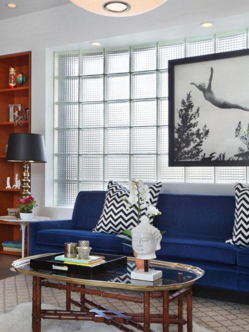 Contemporary Living Room Idea In Los Angeles