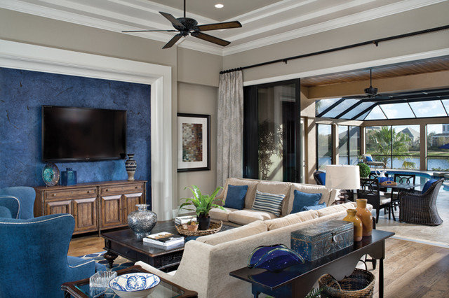 Contemporary Living Room by Arthur Rutenberg Homes