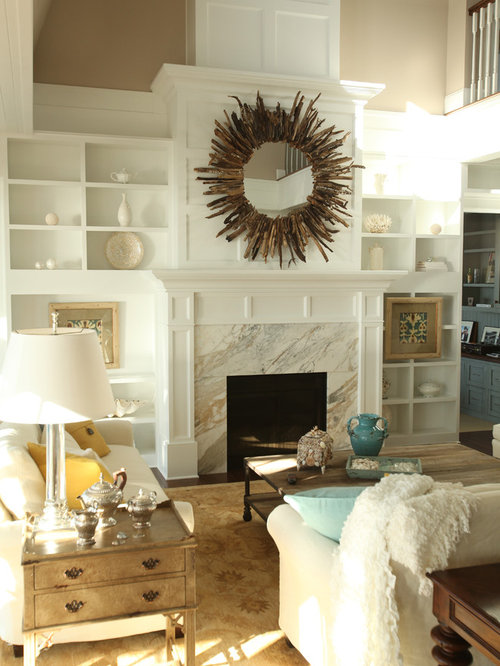 Carrara Marble Fireplace Surround Houzz