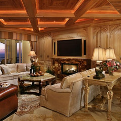 traditional living room by K2 Design Group, Inc.