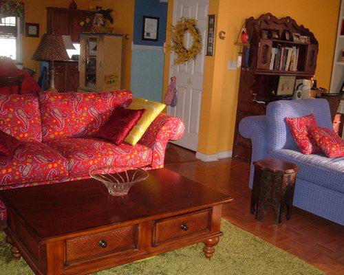 Marie 39 s vibrant caribbean living room design for 526 salon st paul