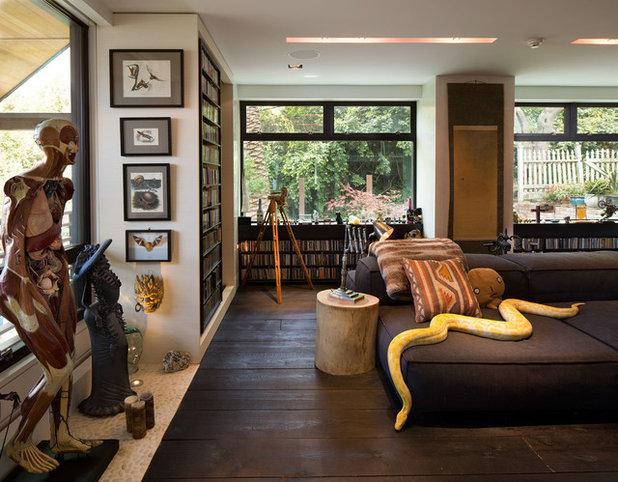Modern Wohnbereich by Dawson & Clinton